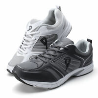 UK Men Hiking Sports Breathable Sneakers Outdoor Casual Running Shoes Plus Size