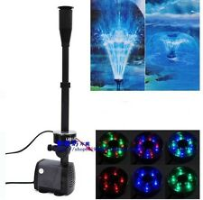 Asian Star / SOBO Submersible Fountain Pump LED-5800FP  with 5 mtr wire