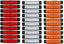 30 x 24 V 6LED SMD Blanc Jaune Rouge Côté SCANIA R480 R500 P230 R560 Pour Van Camion