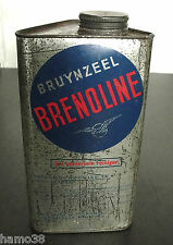PIET ZWART a.o., c.1936-1951: BRUYNZEEL BRENOLINE oil tin