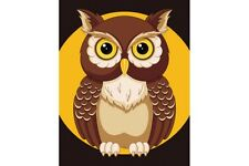 PAINT BY NUMBERS KIT OWL