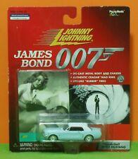 JOHNNY LIGHTNING - JAMES BOND 007 - FORD MUSTANG - THUNDERBALL SEAN MASSAGE MOC