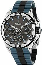Festina Herren-Armbanduhr XL Tourchrono Chronograph Quarz F16659/C