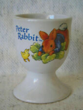 Peter Rabbit Porcelain Egg Cup By Fredrick Warne & Co 2008 Easter Eggcup New