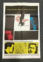 THE MAN WITH THE GOLDEN ARM One Sheet Poster Sinatra SAUL BASS R60 Hi Grade