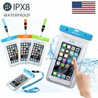 3 Pack Mpow Waterproof Underwater Phone Pouch Bag Pack Case Cover for Cell Phone