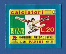 BUSTINA CALCIATORI PANINI 1972/73 - NUOVA DA EDICOLA - SIGILLATA/SEALED