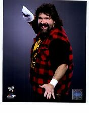 MICK FOLEY UNSIGNED 8x10 PHOTO FILE WWE WWF WRESTLING LEGEND CACTUS JACK SOCKO
