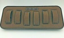 Longines  Watch Display Box Stand 6 Watch Brown