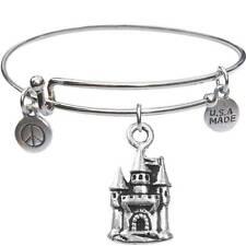 Usa Made - BbandJt145 Bangle Bracelet and Castle -