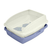 Sifting Cat Litter Box Large Pan Frame Easy Clean No Scoop Clumping Van Ness