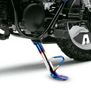 Aluminum Motorcycle Dirt Bike Kickstand Side Stand Leg Fit for Honda Kawasaki