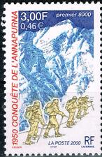 Francia Himalaya Annapurna Montaña 1950 Conquest Sello MNH