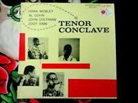 MOBLEY, COHN, COLTRANE, SIMS TENOR CONCLAVE VINYL LP PRESTIGE OJC 1984 NICE