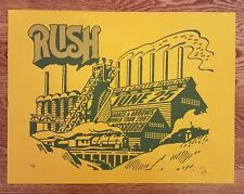 Rush Poster Pittsburgh June 25 Snakes & Arrows world tour 2007