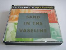 CD TALKING HEADS POPULAR FAVORITES/SAND IN THE VASELINE ***2 DISCS***