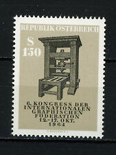 AUSTRIA 1964  MNH  SC.740 Old printing press