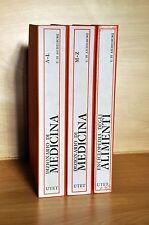 DIZIONARIO DI MEDICINA e ENCICLOPEDIA DEGLI ALIMENTI - UTET 1975 Quarta Edizione