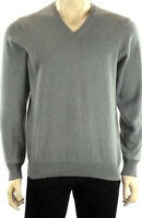 Marks & Spencer Mens V Neck Jumper New M&S Pure Cotton Sweater Pullover Free P&P