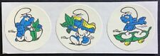Vintage Matte Smurf Scratch & Sniff Stickers - Spearmint - Excellent Scent!!