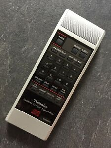 TECHNICS EUR64783 GENUINE REMOTE FULLY REFURBISHED AND TESTED PLEASE SEE PHOTOS
