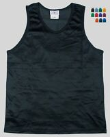 Nylon Mini Mesh Tank Top / Singlet by Teamwork - Men's Medium - 14 Colors