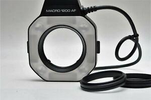 Minolta Macro Flash 1200 AF Ring ONLY for Alpha Film Cameras