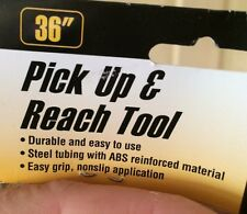 36 in X-Long PICK UP REACH TOOL back saving Reacher Grabber assisted living tool
