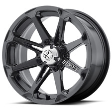 Set of (4) MSA MotoSport Alloys 14 Inch Aluminum Diesel M12 Rim Wheel ATV UTV
