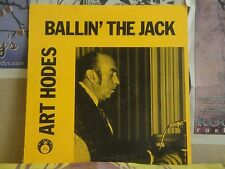 ART HODES, BALLIN THE JACK - FAT CATS JAZZ 148 LP