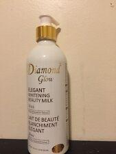 Diamond resplandor Blanqueamiento de leche de belleza elegante 500 ml jabón y muestras gratis.