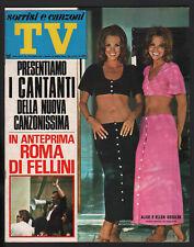 SORRISI 30/1971 KESSLER APOLLO 15 IRWIN WORDEN SCOTT DUO DI PIADENA FELLINI ROMA