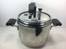 """Lagostina Irradial Plus 7L Pressure Cooker 18/10 Stainless 8 """"/20cm ITALY"""