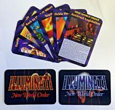 Illuminati: New World Order. Assassins Limited Edition Cards Multi-Listing.