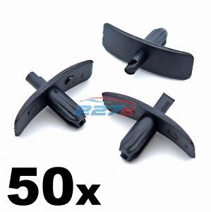 50x Rubber Weatherstrip Seal Clips for Door Gaskets, Boot & Bonnet Seals, Volvo