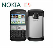 Nokia E Series E5 5MP 3G network - Carbon Black silver Unlocked Smartphone