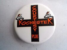 Vintage Rochester (Minnesota?) Courtesy Plus Souvenir Pinback Button