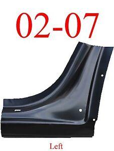 02 07 Chevy Trailblazer Left Dog Leg, GMC Envoy, Olds Bravada 0875-121