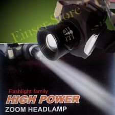15W HIGH END CREE LED Zoom Lampe Torche de la tête, Batterie et FOCUS Très Hell