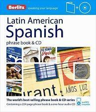 Berlitz Latin American Spanish Phrase Book & CD (Spanish Edition), Berlitz Publi