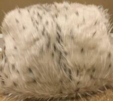 """NEW Pottery Barn Teen SNOW CAT Faux Fur LARGE 41"""" Beanbag Cover IVORY"""