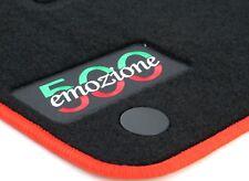 passend für Fiat 500 Autofußmatten Autoteppiche Fussmatten ab 2012 -  Lrru
