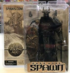 "Spawn Dark Ages The Viking Age Skullsplitter figurine 7"" figure McFarlane 22R3"