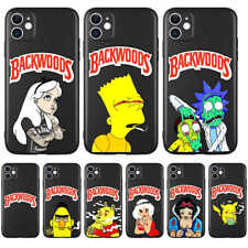 Backwoods Simpson Morty Phone Case for iPhone 6 S 7 8 Plus X XS Max XR 11 Pro SE