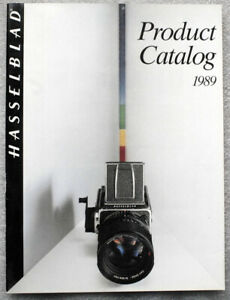 HASSELBLAD Product Catalog 1989