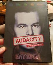NEW Sealed Christian Faith Drama DVD! Audacity (Travis Owens, Ray Comfort)