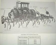 John Deere 100 Ifh Series 120122124 Chisel Plow Parts Catalog Manual Original