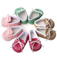 MAGIC GIFT Beautiful Doll Shoes Fits 18 Inch Doll and 43cm baby shoes dolls O7C1