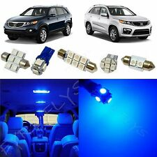 8x Blue LED lights interior package kit for 2011-2013 Kia Sorento KS1B