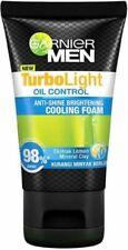GARNIER MEN TurboLight Oil Control Cooling Foam 100ml-Removes excessive oil